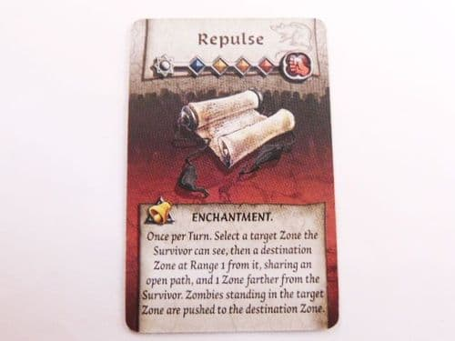 survivor enchantment card (repulse)