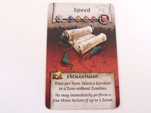 survivor enchantment card (speed)