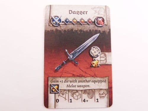 survivor equipment card (dagger)