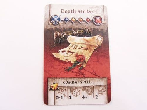 survivor equipment card (death strike)