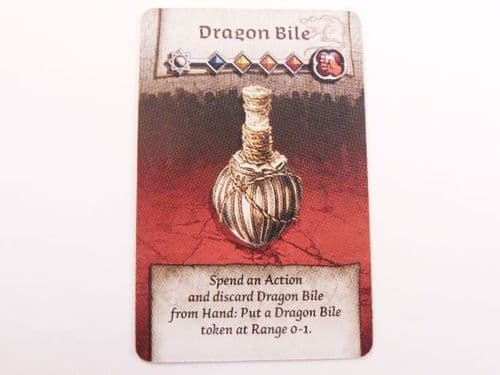 survivor equipment card (dragon bile)