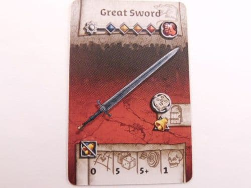 survivor equipment card (greatsword)