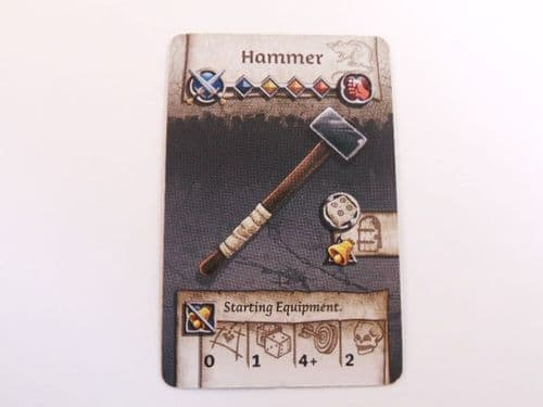 survivor equipment card (hammer)