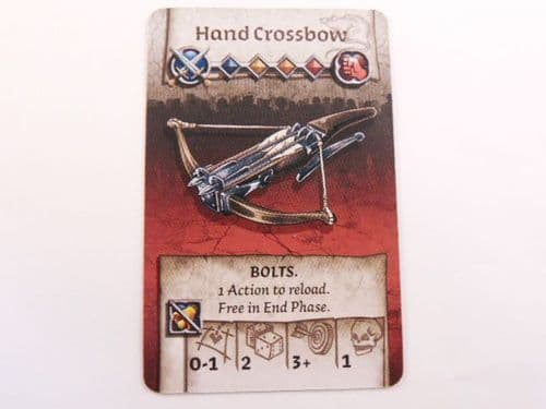 survivor equipment card (hand crossbow)