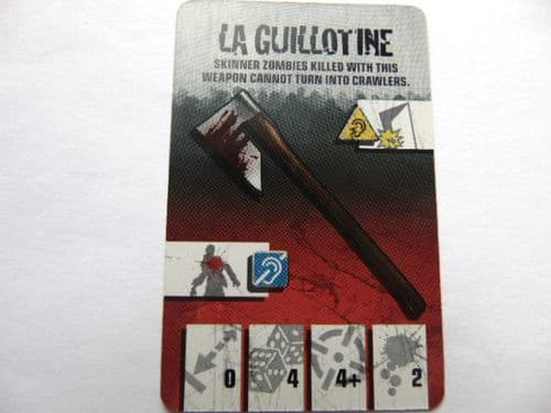 survivor equipment card (la guillotine)