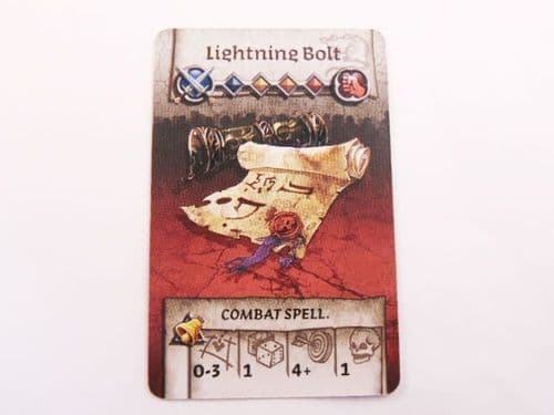 survivor equipment card (lightning bolt)