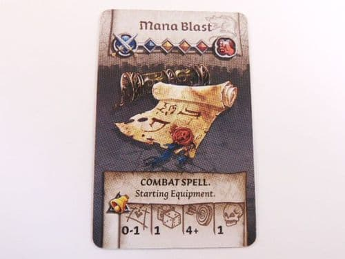 survivor equipment card (mana blast)