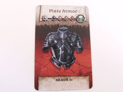 survivor equipment card (plate armour)