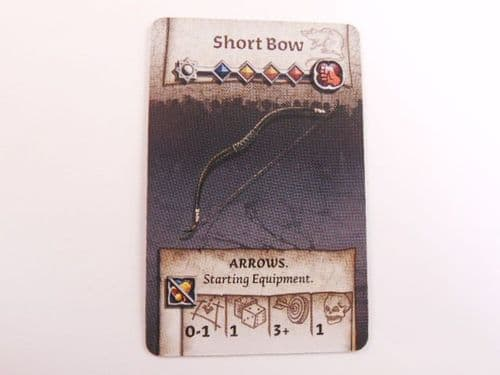 survivor equipment card (short bow)
