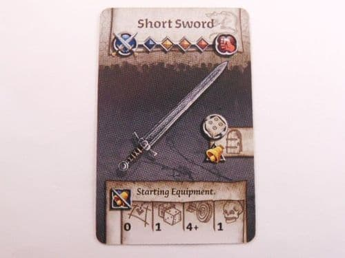 survivor equipment card (short sword)