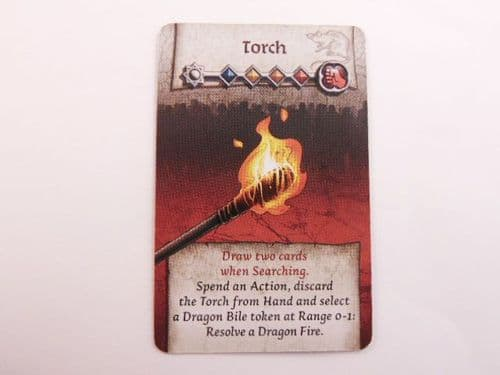 survivor equipment card (torch)
