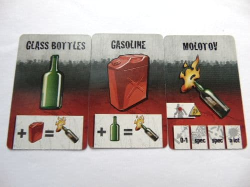 survivor equipment cards (molotov maker)