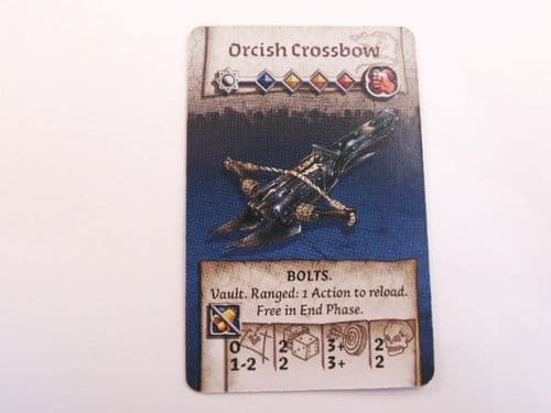 survivor equipment vault card (orcish crossbow)