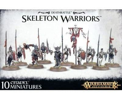 Vampire count Skeleton Warriors