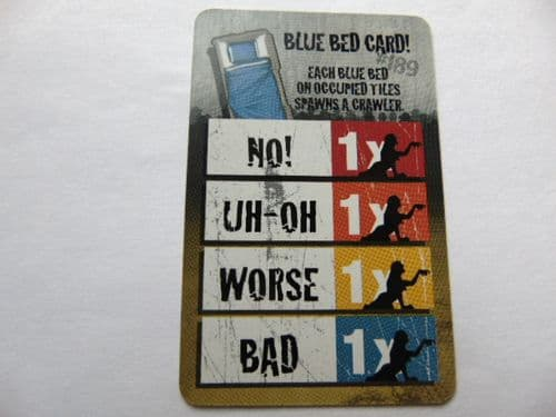 zombie action card (blue bed spawn card)