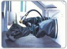 """7 x 24"""" Replacement Gloves for Large Sand Blasting Cabinet."""