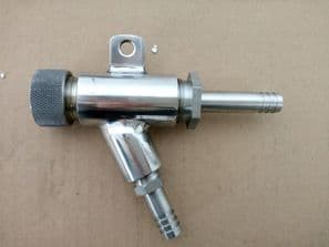 Stainless Steel Sand Blaster Gun Fitted with an 8mm Boron Carbide Nozzle