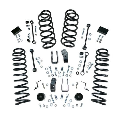 "Alloy Usa 2.5"" Lift Kit W/O Shocks; 18-19 Jeep Wrangler Jl, 4Dr"