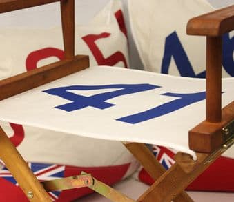 Directors Chair Replacement Covers - Sailcloth