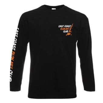 East Coast Blokart Club - Black Long Sleeve T-shirt