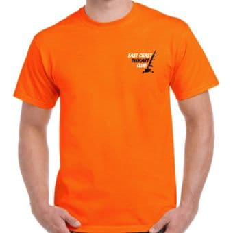 East Coast Blokart Club - Orange Short Sleeve T-shirt