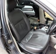 FOCUS MK1 5 DOOR BLACK LEATHER HEATED DRIVER SEAT WITH AIRBAG 2003-2005