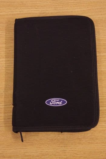 GENUINE FORD FIESTA MK5 OWNERS HAND BOOK AND AUDIO MANUAL WITH WALLET 1995-2002