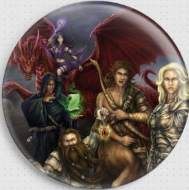 Adventuring Party By She Black Dragon Needle Minder
