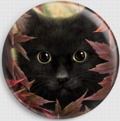 Autumn Cat By She Black Dragon Needle Minder