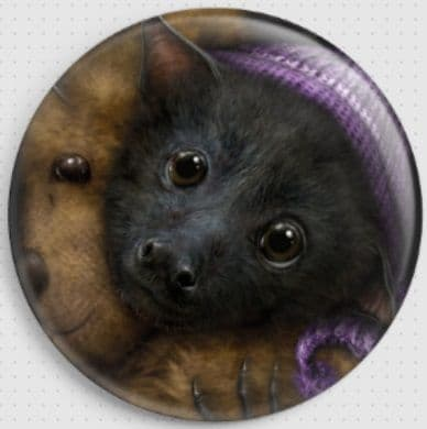 Baby Bats Bedtime By She Black Dragon Needle Minder