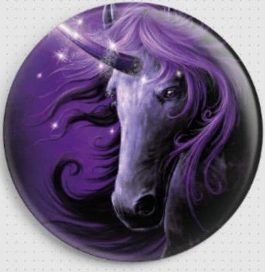 Black Magic Unicorn By She Black Dragon Needle Minder