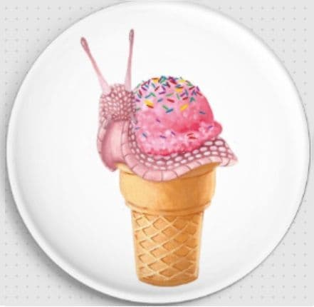 Ice Cream Snail By Maddy Wilson Needle Minder
