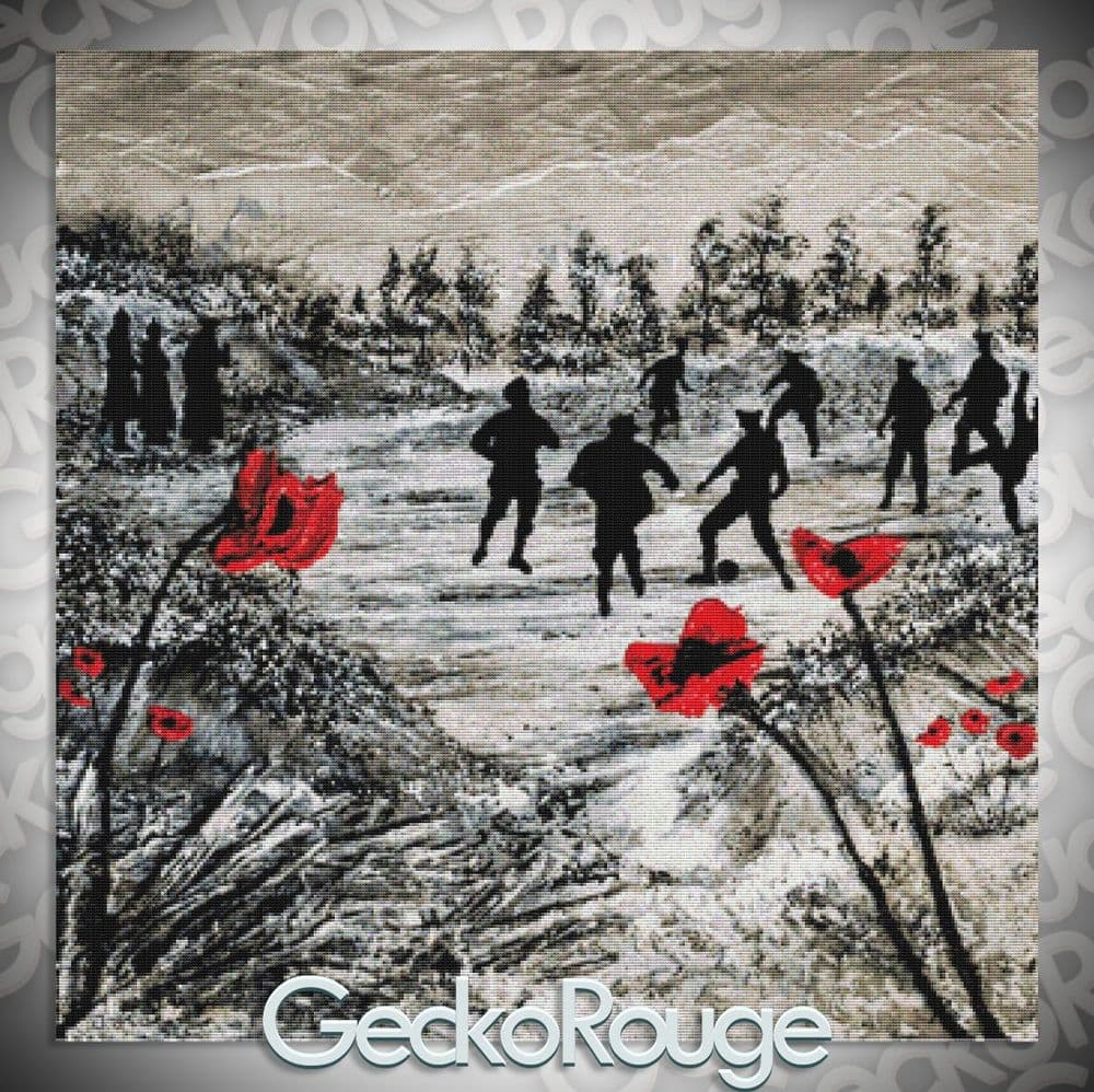 Peace for Christmas Cross Stitch Kit by Jacqueline Hurley
