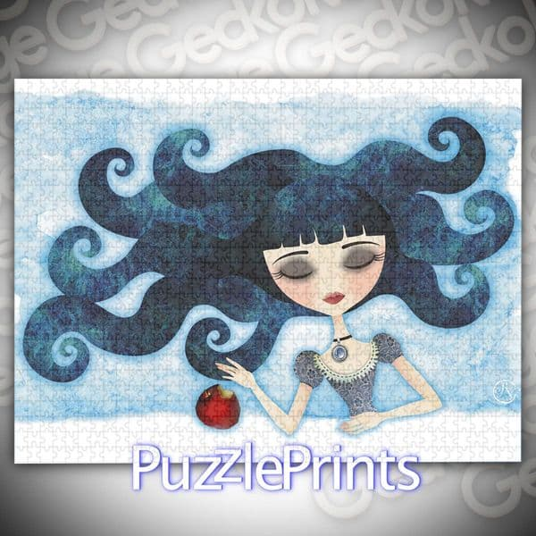 Poisoned Jigsaw Puzzle by Sandra Vargas and Puzzle Prints