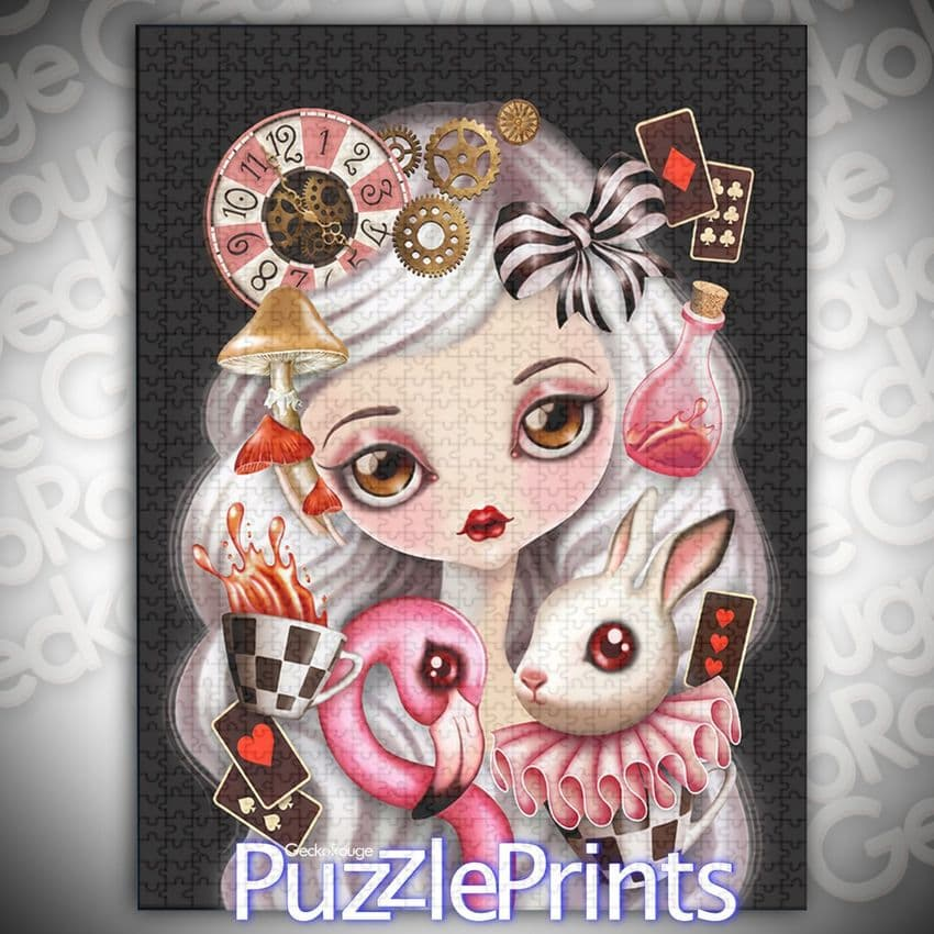 Alicia  Art Jigsaw Puzzle by Sandra Vargas and Puzzle Prints