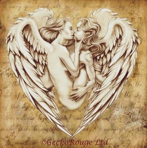 Angel Heart By Fran Duncan Cross Stitch Kit