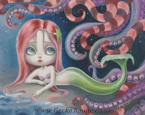Ariel By Simona Candini Cross Stitch Kit (SCARIEL)