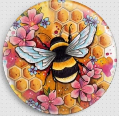 Bee by Lorna Laine Licensed Art Needle Minder