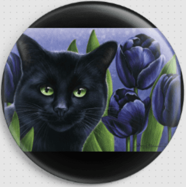 Black Tulips  By Irina Garmashova-Cawton Needle Minder