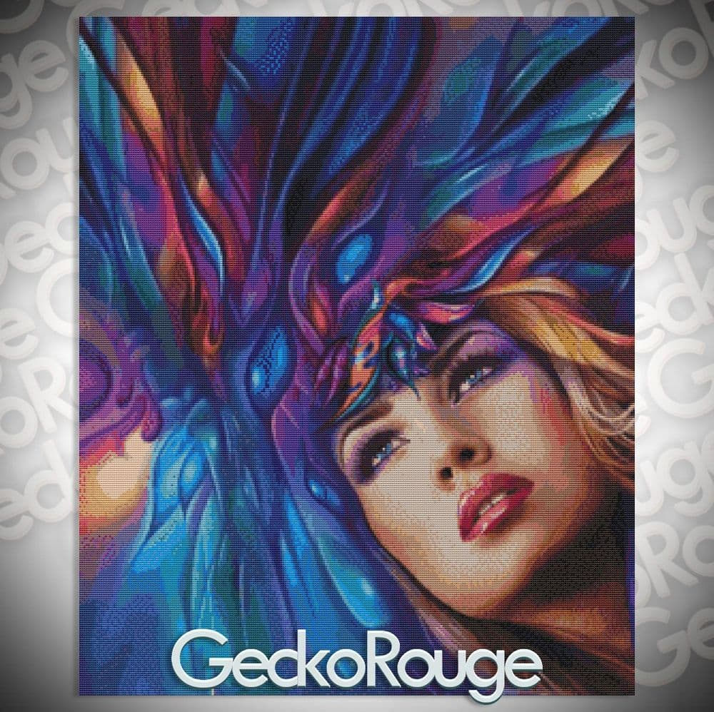 Book Cover by Leon Alegria Counted Cross Stitch Kit (LABOOK)