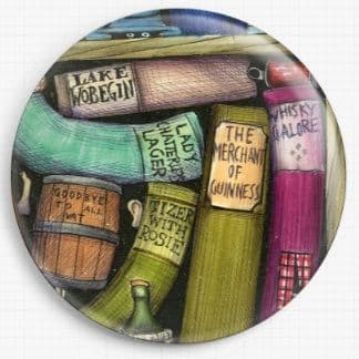 Bookshelf By Colin Thompson Licensed Art Needle Minder No: 9