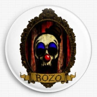 Bozo By Shayne Of The Dead Licensed Art Needle Minder