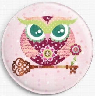 Buho Spring Owl By Sandra Vargas Licensed Art Needle Minder