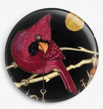 Cardinal By Anita Inverarity Licensed Art Needle Minder