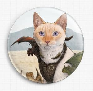 Catleesi Mother Of Cat Dragons by Jenny Parks Licensed Art Needle Minder