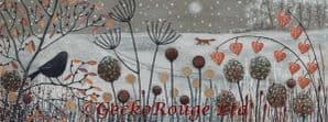 Caught in the Snow by Jo Grundy Cross Stitch Kit (JGCASNW)