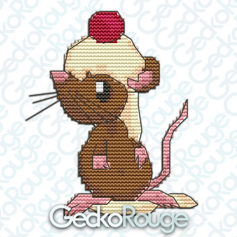Chocolate Mousse by Sugar & Spice, All Things Mice [READY TO SHIP]