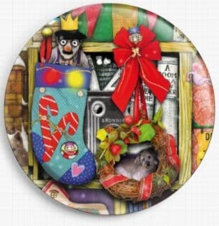 Christmas Stories By Colin Thompson Licensed Art Needle Minder No: 01b