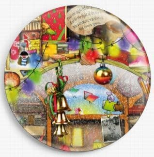 Christmas Stories By Colin Thompson Licensed Art Needle Minder No: 2
