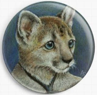 Corky The Cougar By Tanya Bond Needle Minder